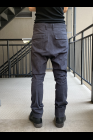 D.HYGEN Semi-Curved Slim Trousers