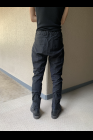 D.HYGEN Dobby Minimalist Border Slim Tapered Pants