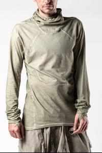 HAM.CUS Cold Dyed Slim Fit Ninja Hoodie