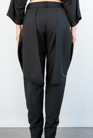 Moohong slim rear flag pants