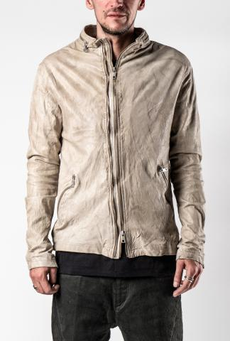 Giorgio Brato Scarstitched Two-zip Rider Leather Jacket