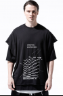 A.F. Artefact Print Type F &embroidery Layered Over Sized Top