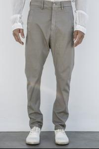 POEME BOHEMIEN slim fit pants w/pence