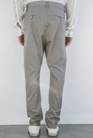POEME BOHEMIAN slim fit pants w/pence