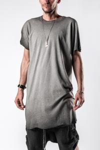 Boris Bidjan Saberi One Piece Seam Taped Loose Fit T-shirt