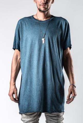 Boris Bidjan Saberi One Piece Seam Taped Regular Fit Short Sleeve T-shirt