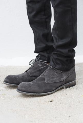 Officine Creative Suede Leather Derbies