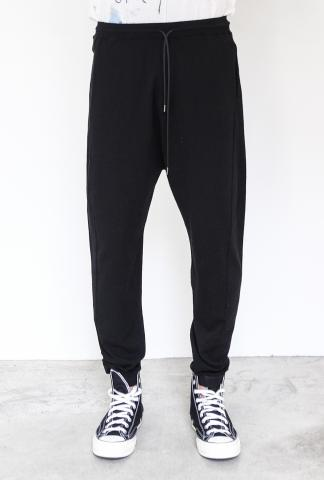 Isabel Benenato Jogging Stretch Pants with Coulisse
