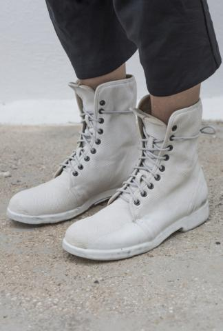 OXS Rubber Soul Rubber Dipped Combat Boots