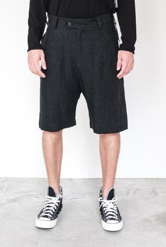 Isabel Benenato Linen Short Pant