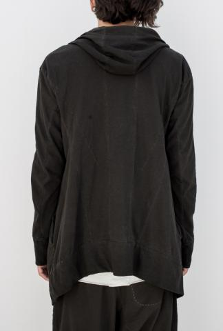 MASNADA Man sweat zipped grey