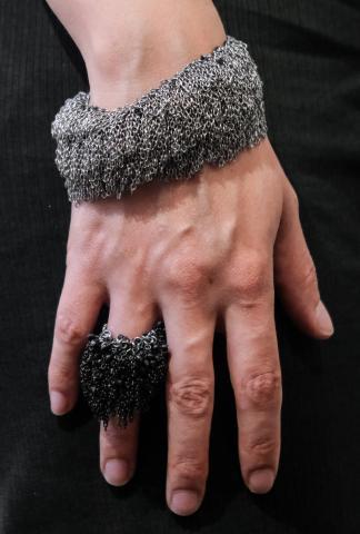 Marc Le Bihan Chain Bracelet / Choker