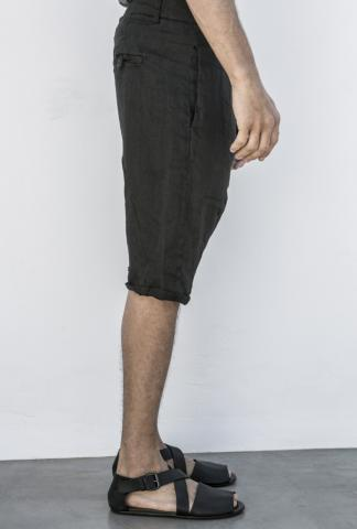 POEME BOHEMIAN shorts with twist seams