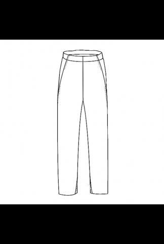 M.A+ low crotch elastic waist pants