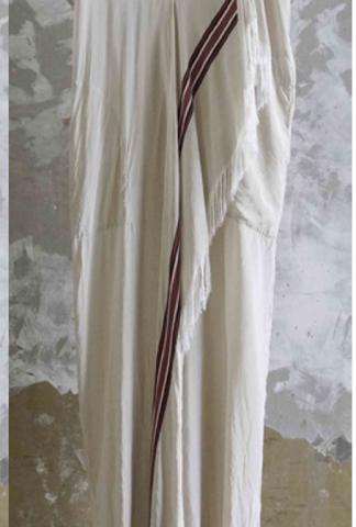 Uma Wang Asymmetric V-neck Dress
