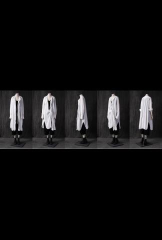 Forme d'Expression Cotton Voile Long Shirt