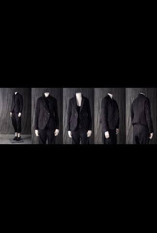 Forme d'Expression Raw-Edged Short DB Jacket