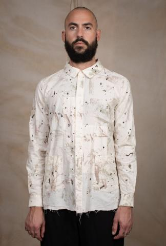 Aleksandr Manamis PAINTER'S SPLASHED SHIRT