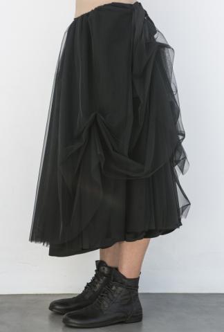 Nostrasantissima Pleated Tulle Skirt