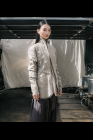 Chiahung Su Reversible Jacket with Frayed Lapel