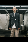 Chiahung Su Reversible Jacket with Mandarin Collar