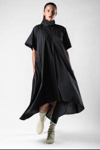 Lemuria Open Back Flare Dress