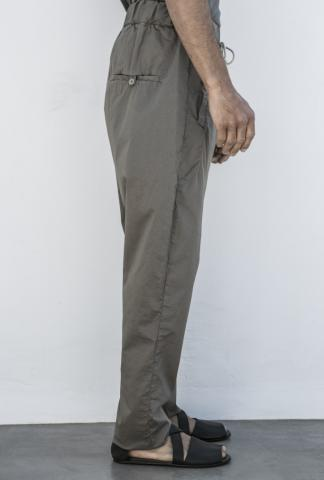 POEME BOHEMIAN drop crotch pants w/coulisse