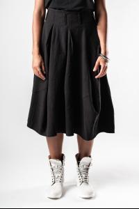 Lurdes Bergada Textured Draped Skirt