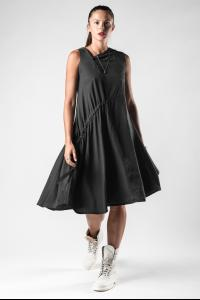 Lurdes Bergada Asymmetric Buttoned Dress