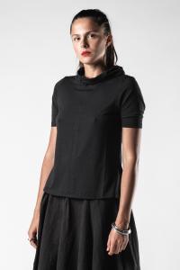 Lurdes Bergada High-neck Short Sleeve T-shirt
