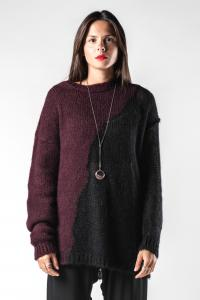 Isabel Benenato Soft Semi-Sheer Knit Sweater