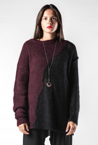 Isabel Benenato Soft Semi-Sheer Knit Sweater