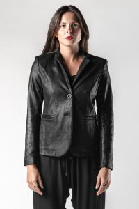 Giorgio Brato Soft Reversed Calf Leather Blazer