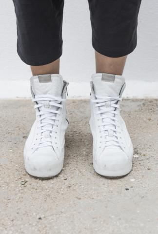 OXS Rubber Soul POLACCO SHOES W WHITE LEATHER