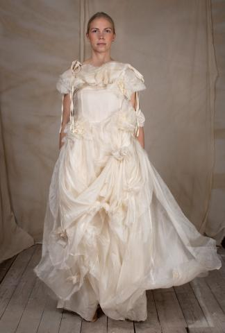 Aleksandr Manamis LONG FLOWER DRESS