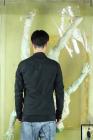 Leon Emanuel Blanck Distortion Short Blazer