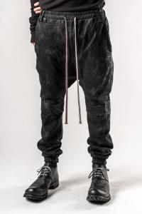 A.F. Artefact Coated Denim Low Crotch Trousers