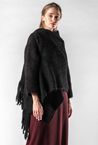 Isabel Benenato Knitted Wrap-around Cardigan
