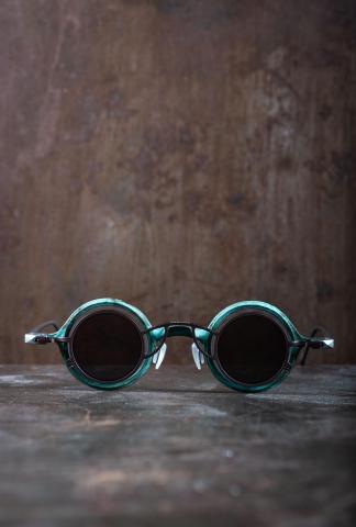 Rigards RG1911 Ziggy Chen Collaboration Jade Copper Sunglasses