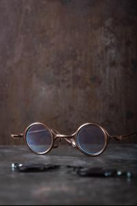 Rigards RG0104 Ziggy Chen Collaboration Red Copper Sunglasses