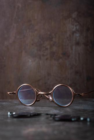Rigards RG0104 Ziggy Chen Collaboration Red Copper Sunglasses