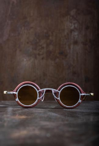 Rigards RG1911 Ziggy Chen Collaboration Rust Copper Sunglasses