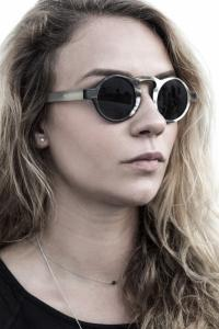 RIGARDS Blk and white sunglasses
