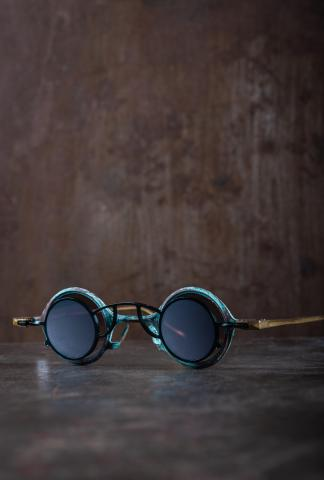 Rigards RG0104 Ziggy Chen Collaboration Jasper Copper Sunglasses