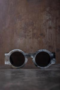 Rigards RG0029 Buffalo Horn Matte Sunglasses