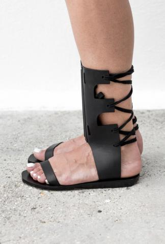 RICK OWENS Leather sandals
