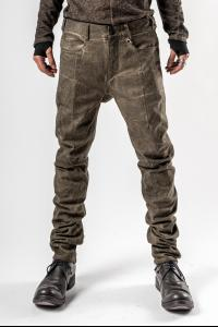 D.HYGEN Cold dyed 3D Curve Slim Trousers