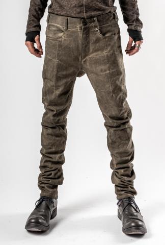 D.HYGEN Cold dyed 3D Curve Slim Trousers