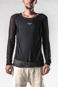 Ann Demeulemeester Tank Top Layered Long Sleeve T-shirt