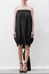 Rick Owens Tube Dress with Loose Knot Panel